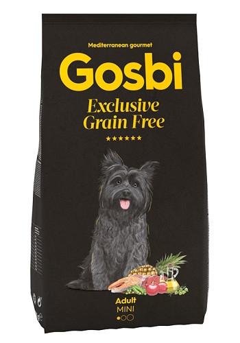 Gosbi Excluisve GF Adult Mini сухой корм для собак мелких пород с рыбой и ягненком