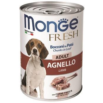 Monge Dog Fresh Adult консервы для собак с ягненком