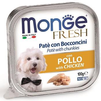 Monge Dog Fresh консервы для собак с курицей