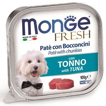 Monge Dog Fresh консервы для собак с тунцом