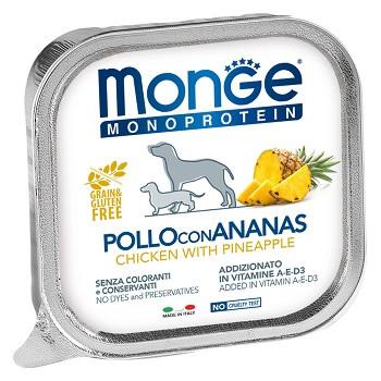 Monge Dog Monoprotein Fruits консервы для собак с курицей