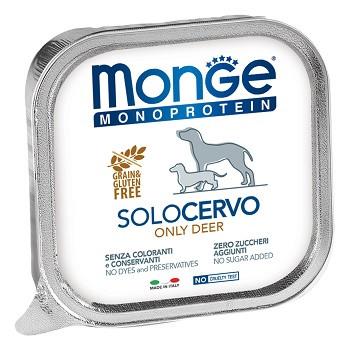 Monge Dog Monoprotein Solo консервы для собак с олениной