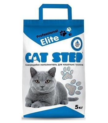 Cat Step Professional Elite наполнитель бентонитовый комкующийся