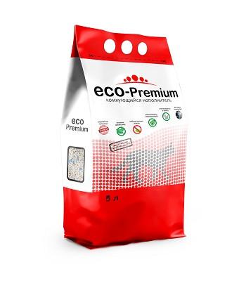 ECO-Premium Blue комкующийся древесный наполнитель