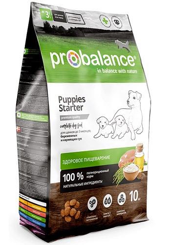 ProBalance Starter сухой корм для щенков до 3-х месяцев и собак в период беременности и лактации