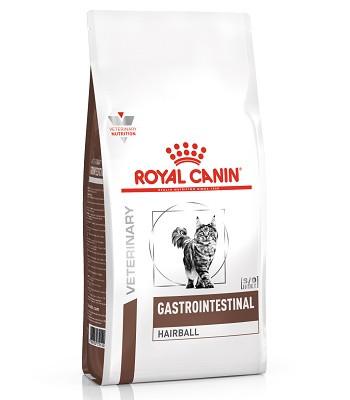 Royal Canin Gastrointestinal Hairball сухой корм для кошек при нарушениях пищеварения