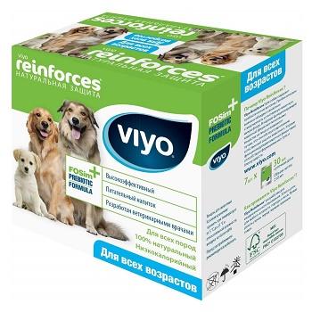 VIYO Reinforces Dog пребиотический напиток для собак и щенков (7 шт.)
